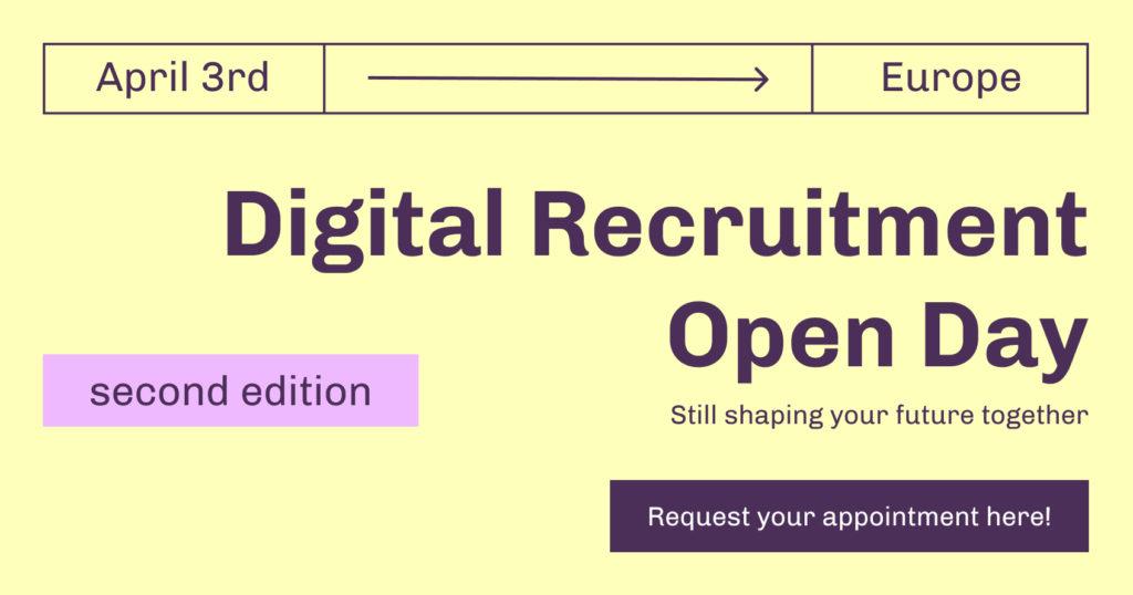 Digital Recruitment Open DayDigital Recruitment Open Day