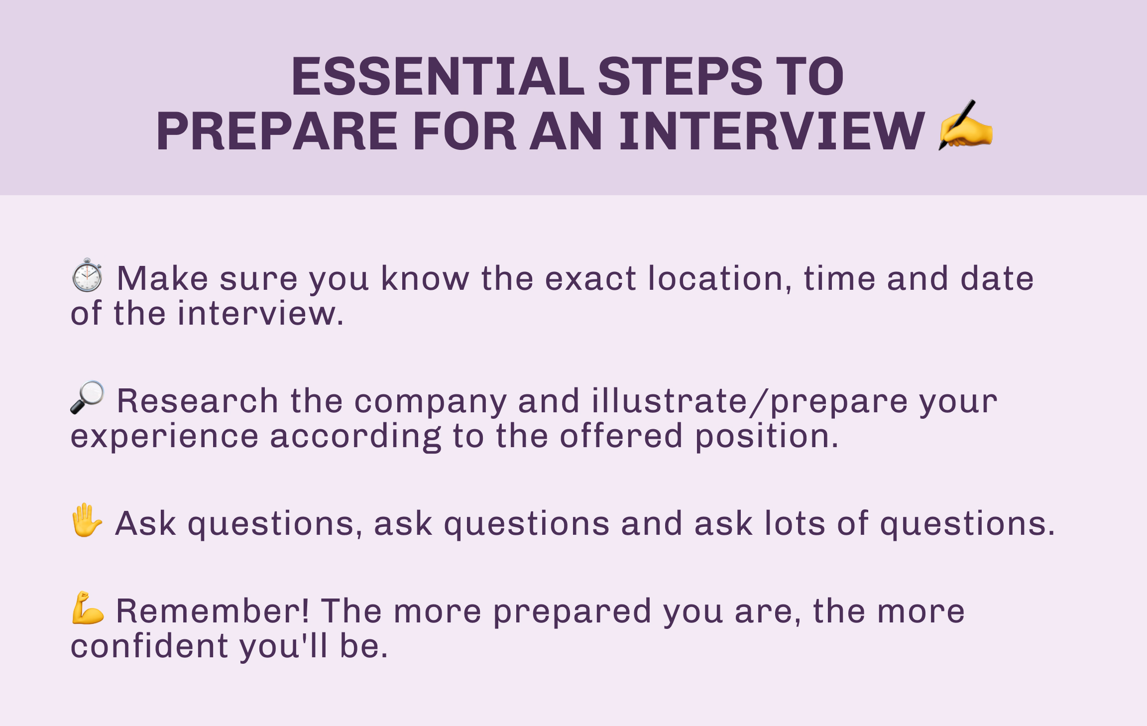 How to prepare for an Interview and deal with it by Jose de la Vega, Team Leader Spain in Luxe Talent